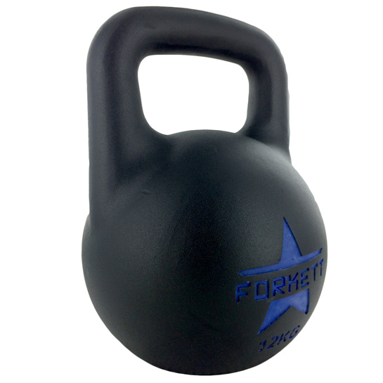 Kettlebell-All-Black-EVO-12kg-side