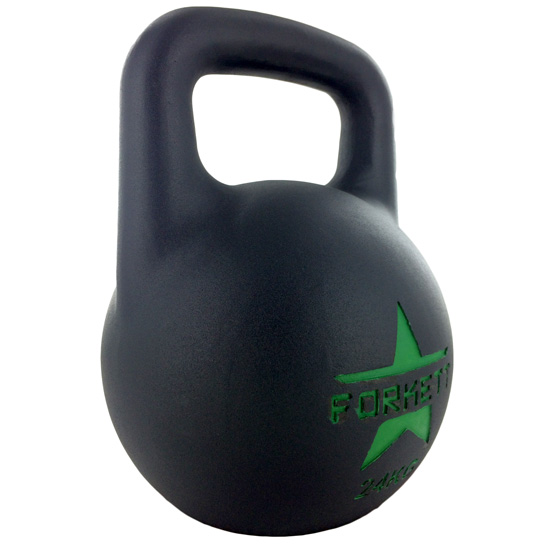 Kettlebell-All-Black-EVO-24kg-side