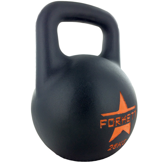 Kettlebell-All-Black-EVO-28kg-side